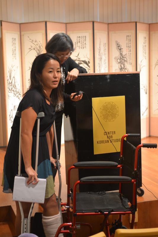 """Megumi Chibana - Organizer of """"Targeted Village"""" film screening 4-April-2014"""